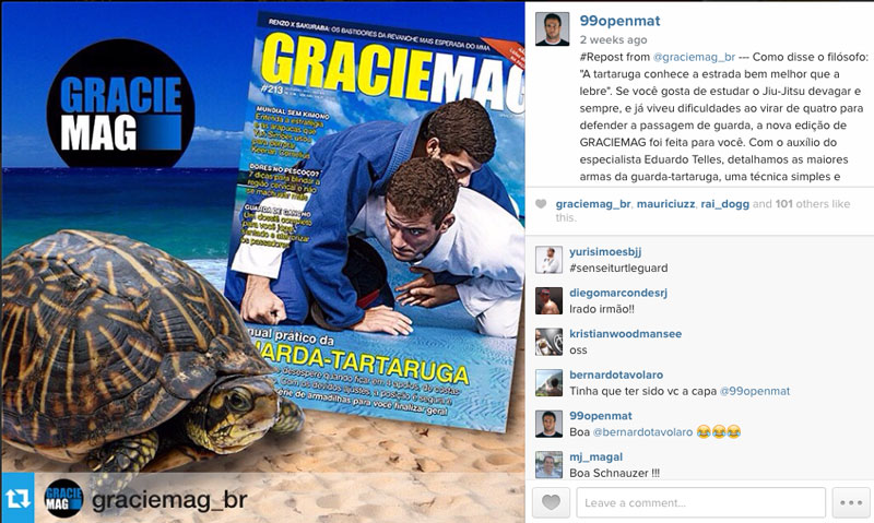 Gracie Mag Brazil Featuring Turtle Guard