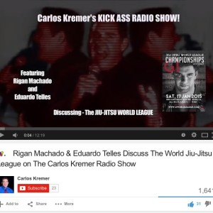 Eduardo Telles & Rigan Machado on The Carlos Kremer Radio Show
