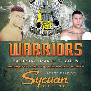 The Miglioli Brothers will be Fighting at the Gladiator Challenge - March 7th, 2015