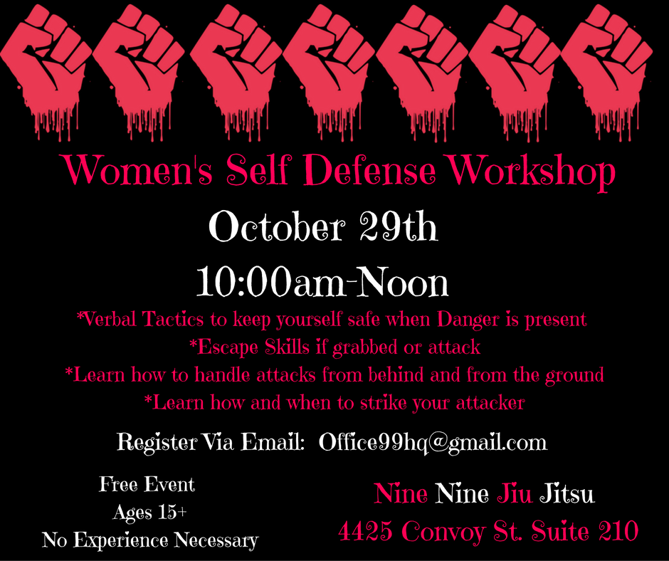 free womens-self-defense class